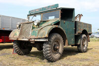 A 1930s GUY Quad Ant 4WD Towtruck