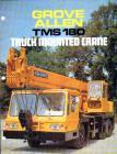 A 1990s ALLEN-GROVE TMS180 Cranetruck Hydraulic