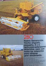 Araus 280 combine brochure