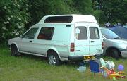 Austin Maestro campervan - rear