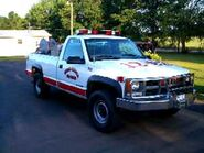 Chevrolet K-3500 Brush Truck - Chaires-Capitola VFD