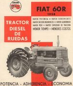 Fiat Concord 60R b&w brochure
