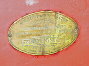 Massey-Harris sn plate 2080 DSC01637 edited