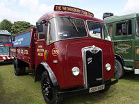 A 1950s GUY Otter Lorry Diesel