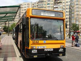 Bucharest Iveco bus 1