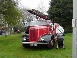 Dennis fire engine at Sandbach