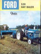 Ford 530 hay baler brochure