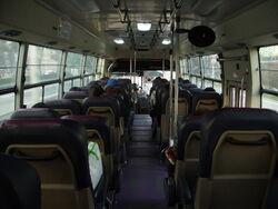 Inside of Busan Urban Bus No. 1007 (FX116)