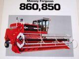 Massey Ferguson 850 combine