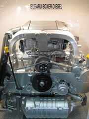 Subaru Boxer Diesel engine for 2008 Legacy in Eco-Products 2008