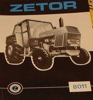 Zetor Crystal 8011 b&w brochure