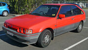 1987-1990 Ford Laser (KE) TX3 3-door hatchback 01