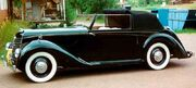 Armstrong-Siddeley Hurricane Drophead Coupe 1946