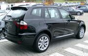 BMW X3 rear 20071104