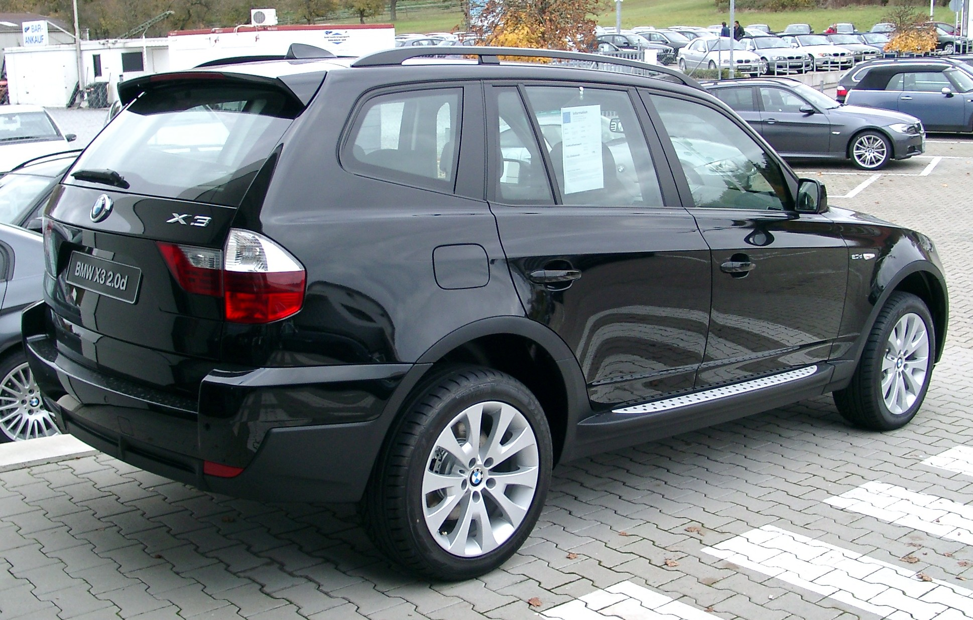 BMW X3 E83 Tractor & Construction Plant Wiki