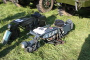 Brockhouse Corgi Mk2 folding motorbike at Welland 2012 - IMG 0632
