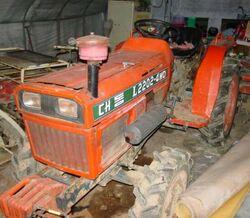 Daedong L2202-4WD MFWD (orange) - 1994