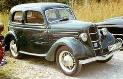 1936 Ford Model C Junior De Luxe Tudor Saloon DYJ078