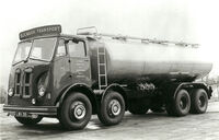 A 1950s GUY Goliath Tanker Lorry Diesel