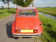 Citroën 2cv back