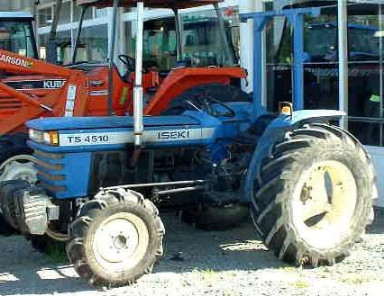 Iseki TS4510 | Tractor & Construction Plant Wiki | FANDOM powered by