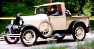1928 Ford Model A 76A Open Cab