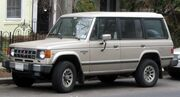 1st Mitsubishi Montero LS
