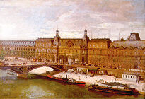 Almeida Júnior - Arredores do Louvre, 1880