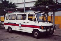 Old HK police Van