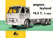 Pegaso Leyland truck ad