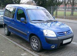 Peugeot Partner front 20071205