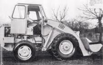 A 1960s BRAY 536 Diesel Loader