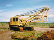 A 1970s NCK Ajax 605 Crawlercrane 60T