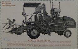 Alasia F combine b&w ad - 1950 2