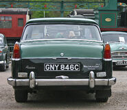 Austin A110 Westminster MkII tail
