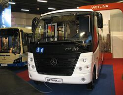 Autosan A8V Wetlina City in Kielce