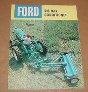 Ford 510 hay conditioner brochure