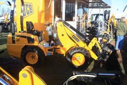 JCB 403 loader on stand at lamma-IMG 4550