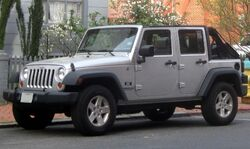 Jeep Wrangler Unlimited X -- 04-07-2010