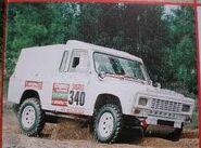 PORTARO 260DP Diesel Rallycar no Baja Todoterreno Fronteira de 1987