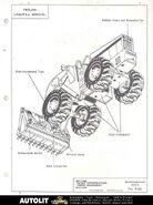 Trojan Landfill Special wheel loader b&w brochure - 1970