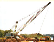 A 1980s Smith Of Rodley E4000LW Dragline Diesel