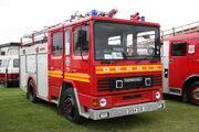 Dennis-Carmichael Fire engine - D554 DOR at Ardingly 2011 IMG 4954