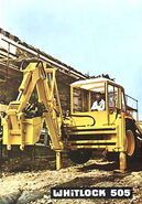 1970s WHITLOCK 505 Diesel Digger-Loader 4x4