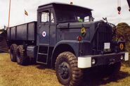 A 1960s Scammell Constructor 20T 6X6