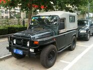 A 1990s BEIJING JEEP BJ212A 4WD 2400