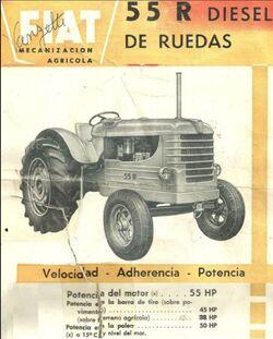 Fiat Concord 55R b&w brochure