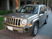 Jeep Patriot at spa resort