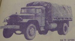 MACK EH 1943 MILITARY PATTERN