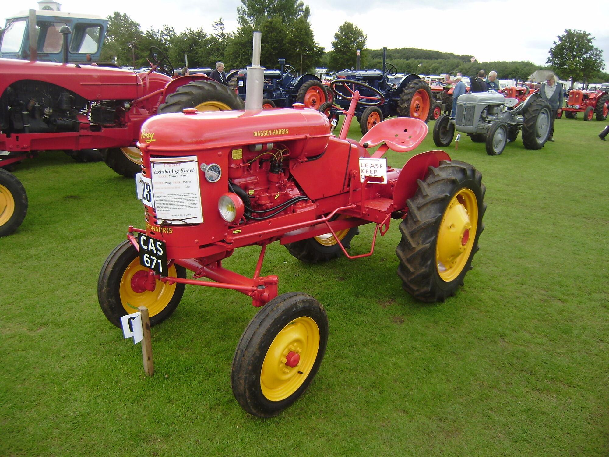 Massey Harris Tractor : Massey harris pony tractor construction plant wiki
